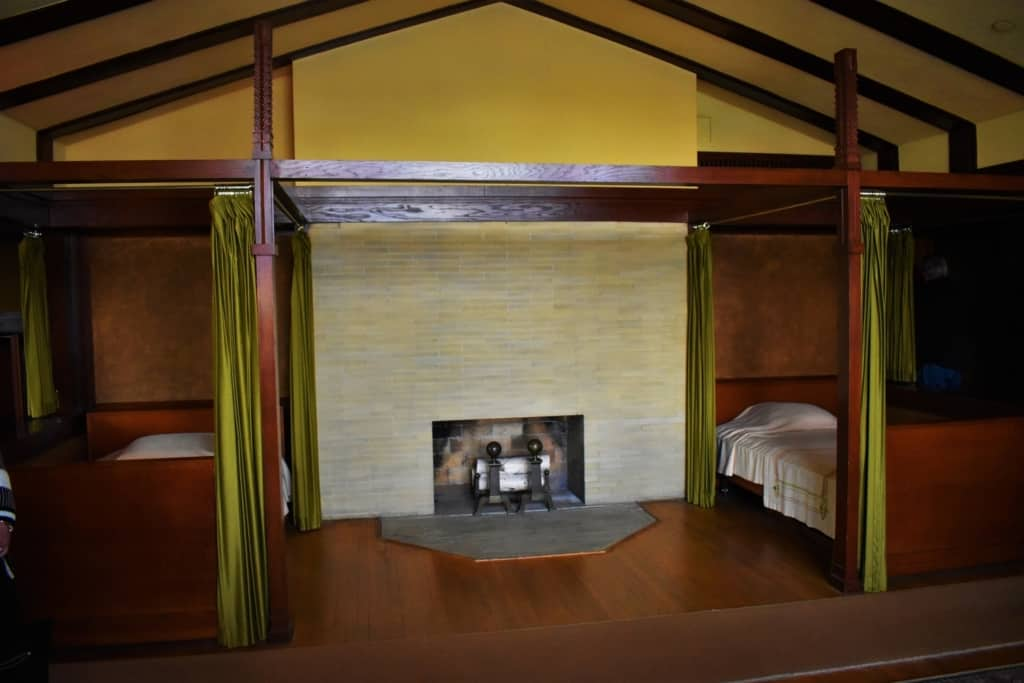 It is easy to see the Japanese influences in many of the rooms found inside Springfield's Dana-Thomas House.