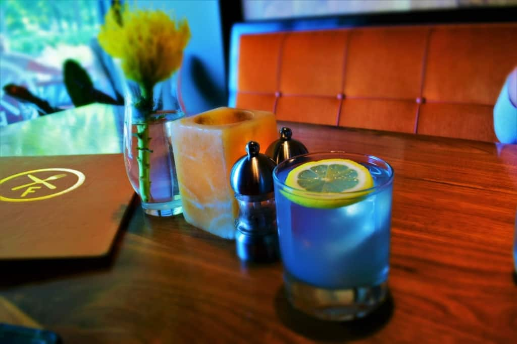 Tasting a Violet Skies, at Flint, was an OKC first for us.