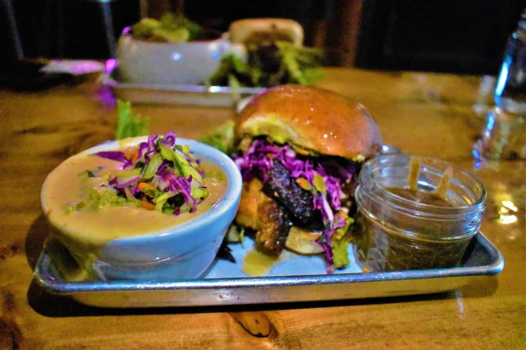 The author was pleased with his Pork Belly Torta that brought so much delicious taste.