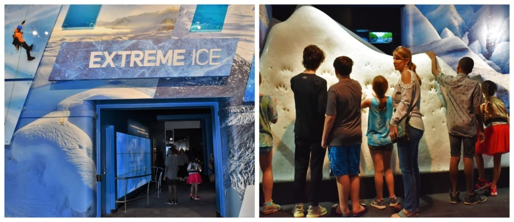 Extreme Ice showed us the chilling side to global warming, as we continued our science search.