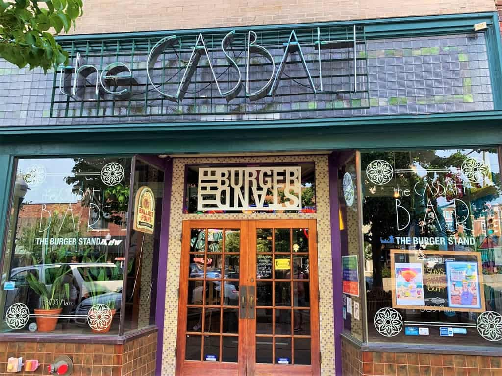 The Burger Stand at The Casbah is an easily recognizable destination for some burgers.