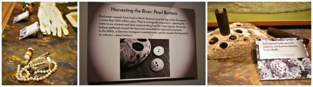 The pearl button industry was big business in Illinois' past.