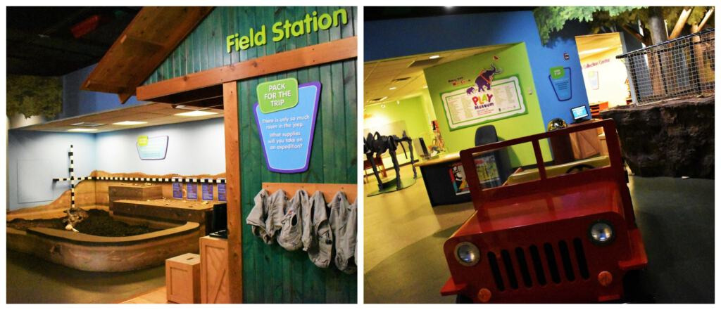 Even younger visitors will have fun piecing together the past at the Illinois State Museum.