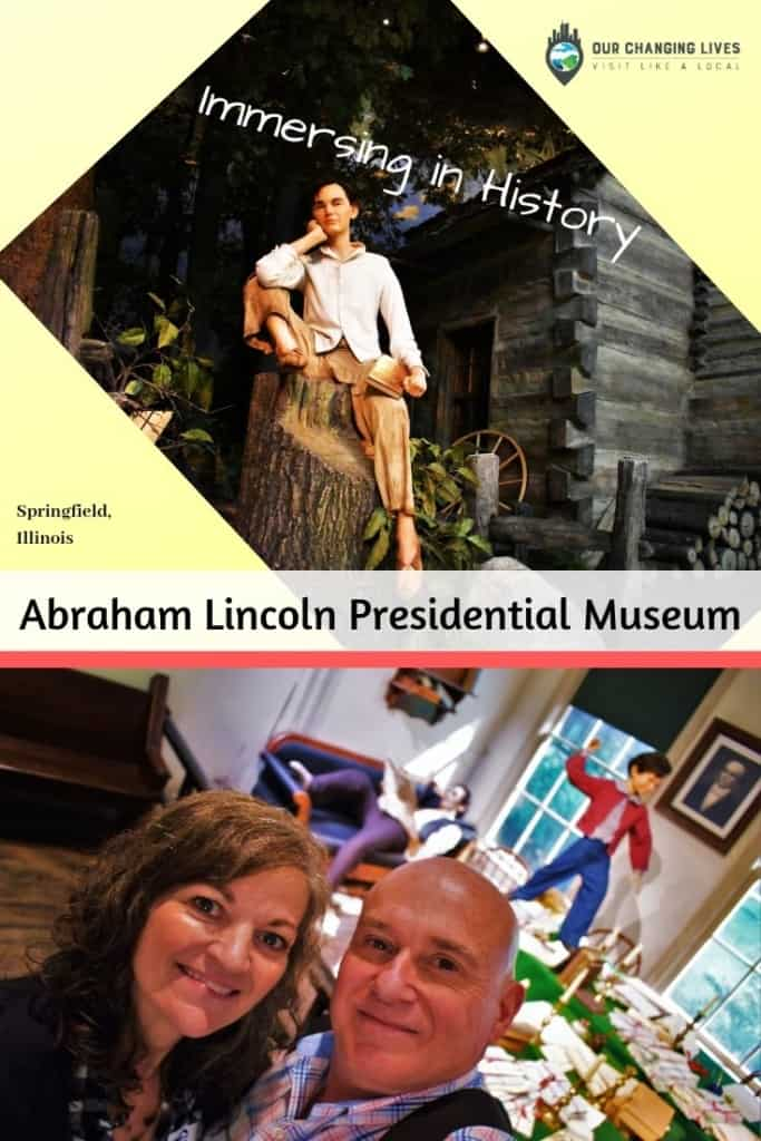 Immersing in History-Abraham Lincoln Presidential Museum-Springfield, Illinois-history-Civil War-Emancipation Proclamation-slavery