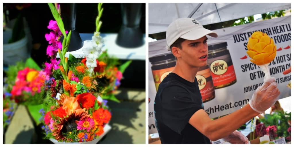 We love the bright colors and interesting items that can be found at the farmers market.