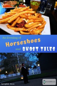 An evening of horseshoes and ghost tales-Horseshoe-Springfield Walks-Obed & Isaac's Microbrewery-Springfield, Illinois-Abraham Lincoln-history tour-ghost tour