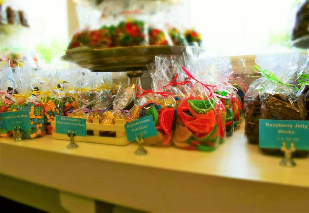 The brightly colored displays speak of sweet success at Betty Jane Candies in Dubuque, Iowa.