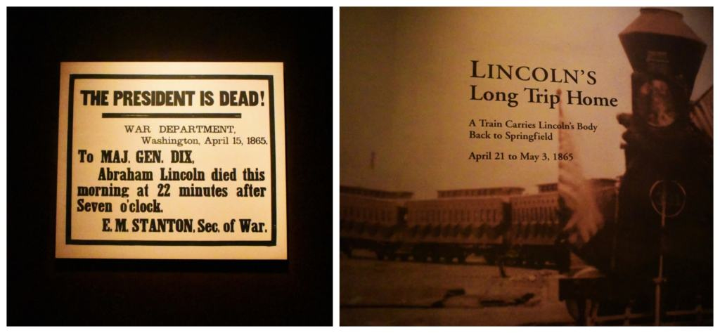 Lincoln's death rippled through the northern states as his body was viewed by thousands of citizens.