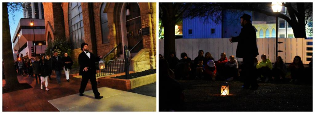 Taking a ghost tour, in downtown Springfield, is a fun experience for all ages.