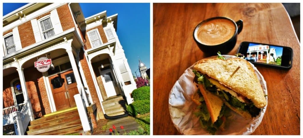 Breakfast and coffee at Wm. Van's is a great way to kick of a culinary tour of Springfield, Illinois.