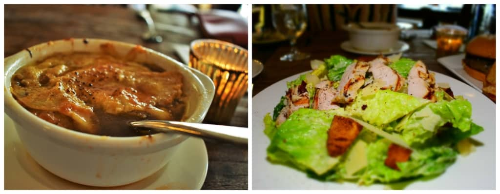 Dining at the 1844 Mash can be as simple as some soup and a salad.