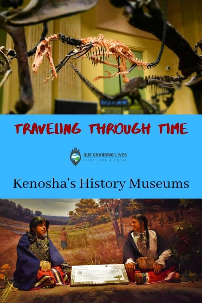 Traveling Through Time-Kenosha, Wisconsin-dinosaur discovery center-Kenosha public museum-free attractions-history-mammoths-dinosaur