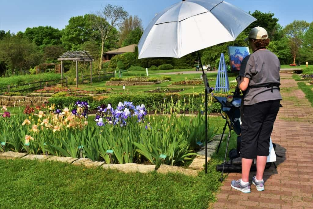 The beautiful scenery of the Dubuque Arboretum begs to be taken in at a slower pace than many attractions.