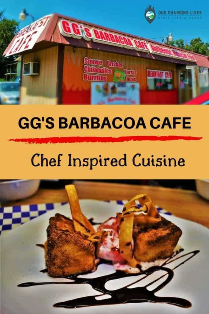 GG's Barbacoa Cafe-chef inspired cuisine-barbecue-Mexican cuisine-Kansas City-restaurant-hole in the wall