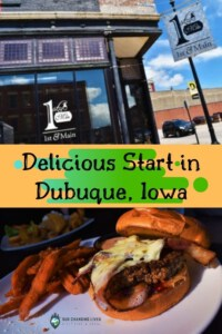 Delicious Start in Dubuque-downtwon Dubuque, Iowa-restaurant-dining-burgers-handhelds-historic building