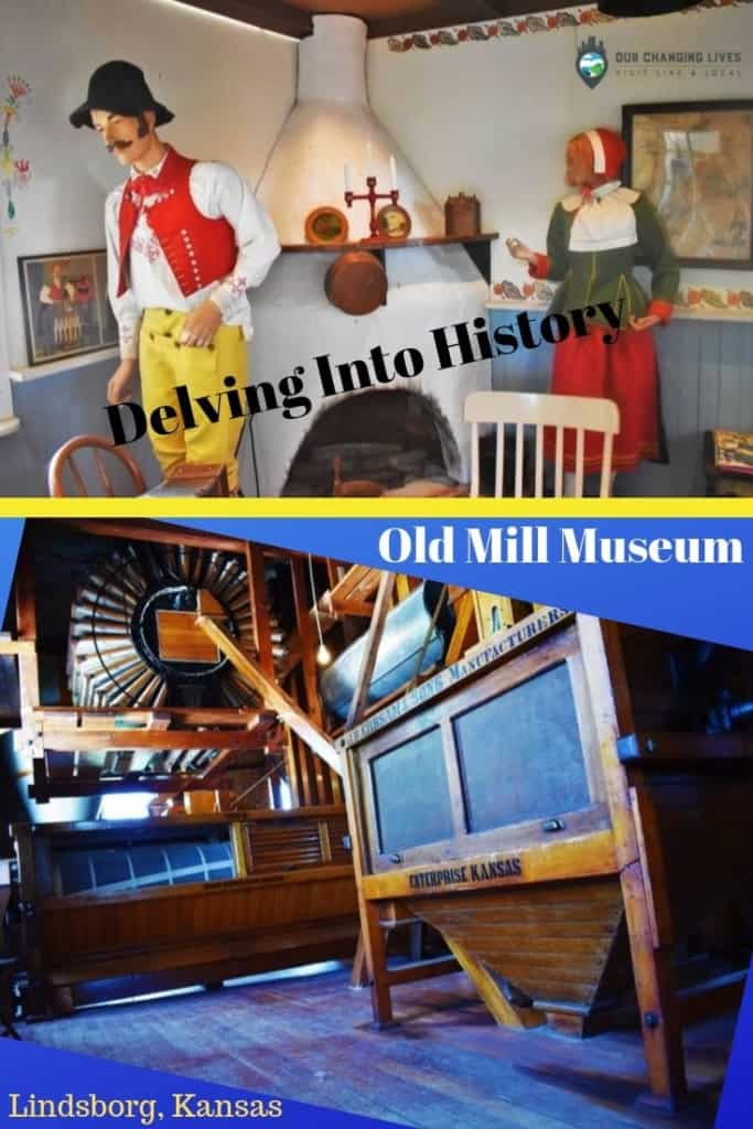 Old mill Museum-Swedish Pavilion-Lindsborg, Kansas-delving into history-Heritage Square