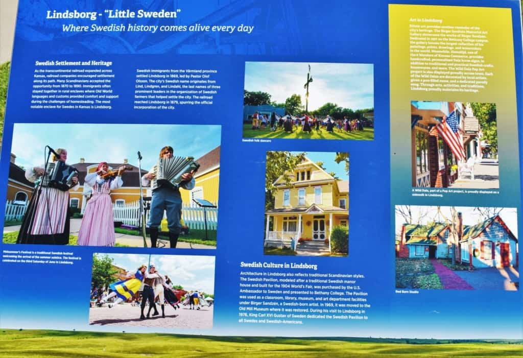 Swedish culture and heritage is still celebrated in Lindsborg, Kansas.