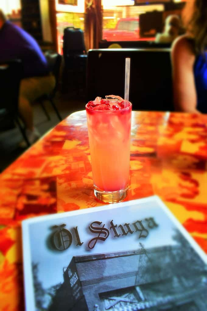 A tall glass of Linsborg Lemonade hits the spot on a hot summer day.