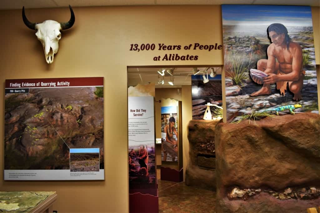 The Alibates Flint Quarries Museum helps visitors learn about the people who once mined the area for this special mineral.