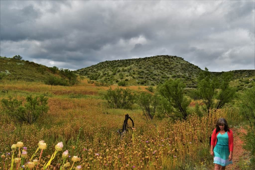 A short hike through the Alibates Flint Quarries provided a chance to take in the beauty of the landscape.