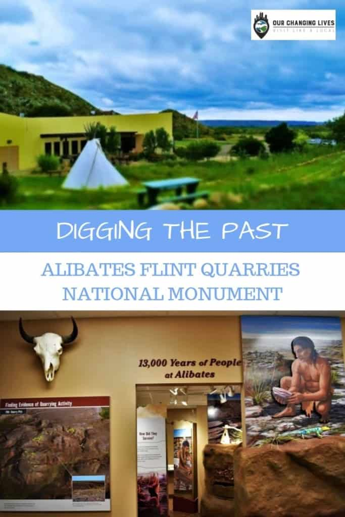 Digging the Past-Alibates Flint Quarries-native Indians-flint tools-arrowheads-Amarillo, Texas
