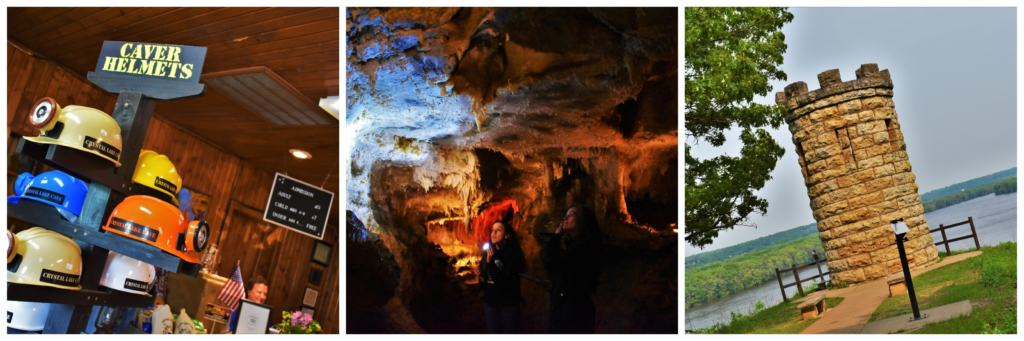 The history of Dubuque can be traced to the Mines of Spain, which is close to Crystal Lake Cave.