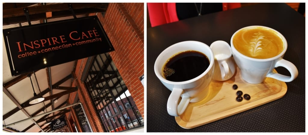 Inspire Cafe was a good choice for starting our day in a relaxed and zenful manner.