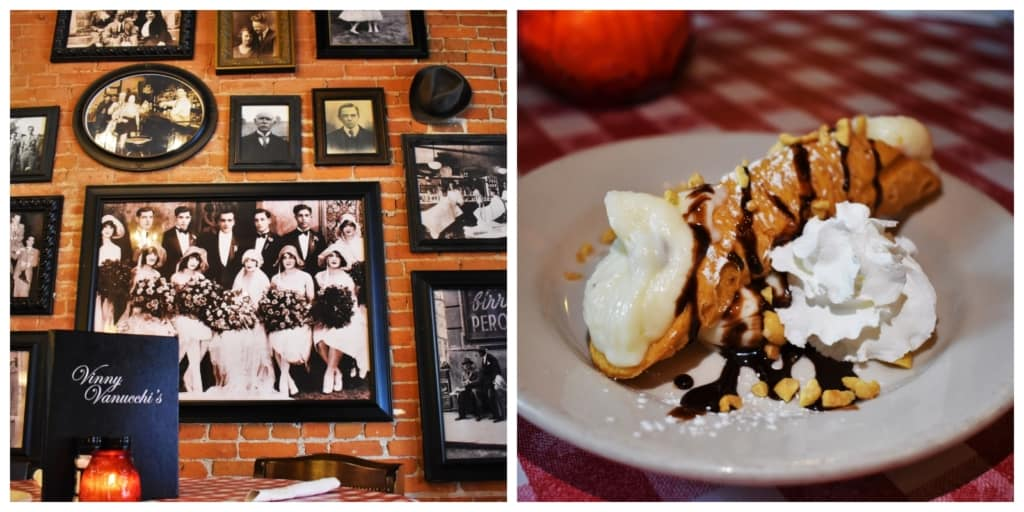 You will discover Dubuque is filled with friendly dining destinations like Vinny Vanucchi's.