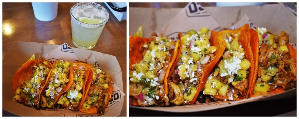 The flavor combination of the Al Pastor Tacos is blurring the line between traditional street tacos and gourmet eats.