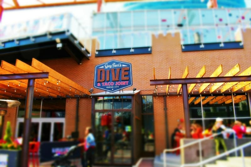 Guy Fieri's newest Kansas City restaurant venture is blurring the line between corporate restaurant and local dive hangout.