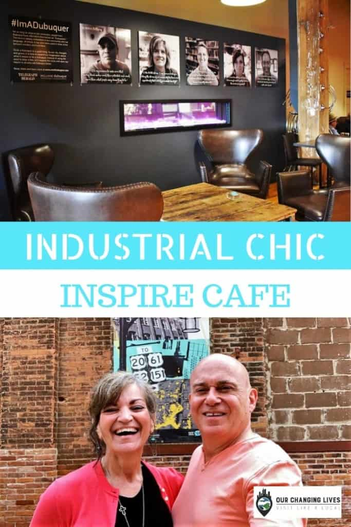 Industrial Chic-Inspire Cafe-Dubuque, Iowa-breakfast-coffee shop-Millwork District