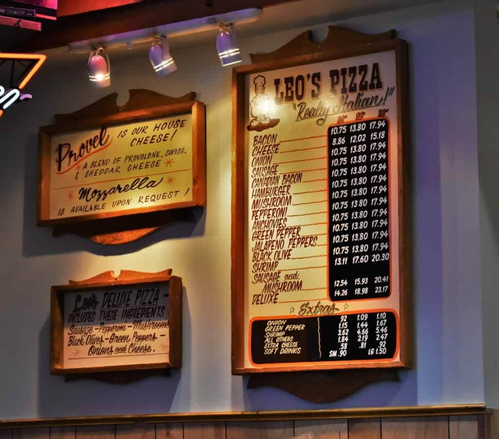 Provel cheese is what makes Leo's Pizza stand out as St. Louis style pizza pies.