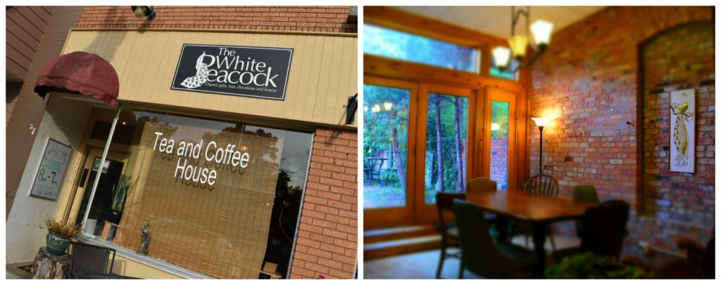 The White Peacock offers interesting dishes and plenty of caffeinated drinks to get your morning started.