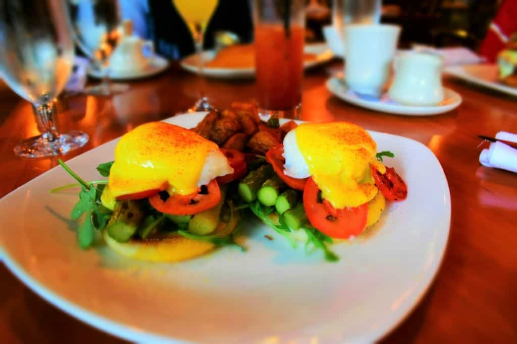 A veggie Benedict brings plenty of flavor choices with a blend of ingredients.