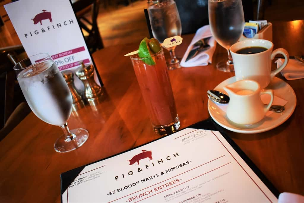 Pig and Finch is a good brunch destination located in Kansas City.