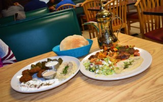 A sampling of flavors shows just how the flavors of the Middle east should be represented.
