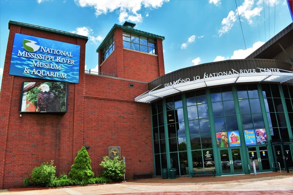 The National Mississippi River Museum was larger than we expected and raised it to the status of one of our top 10 stops in 2019.
