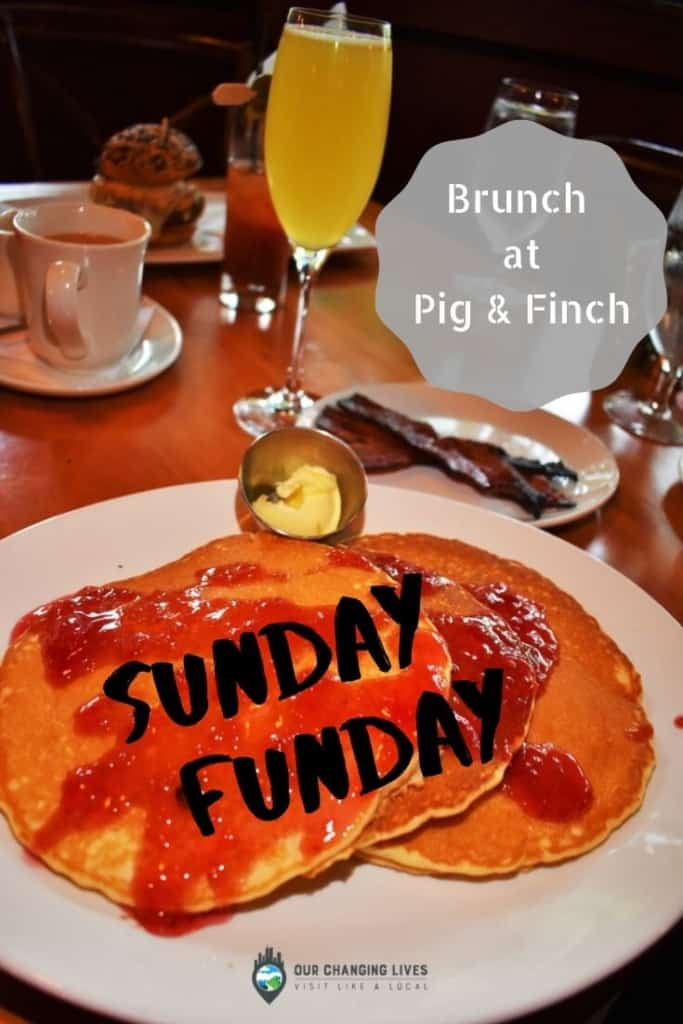 Sunday Funday-Pig & Finch-breakfast-lunch-pancakes-benedict-burger