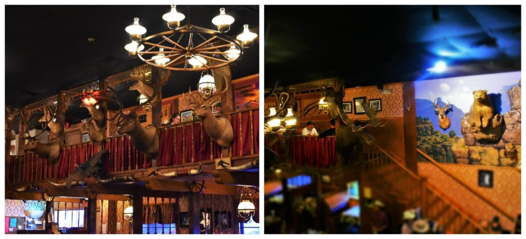 We believe that the cowboy spirit is what drove Bob Lee to decorated The Big Texan with a large assortment of wild game mounts.