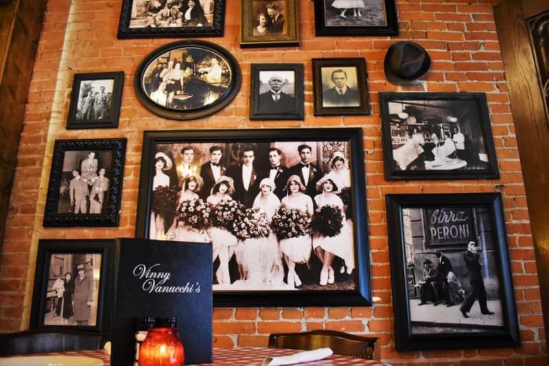 A visit to Vinny Vanucchi's makes you feel like one of the family.
