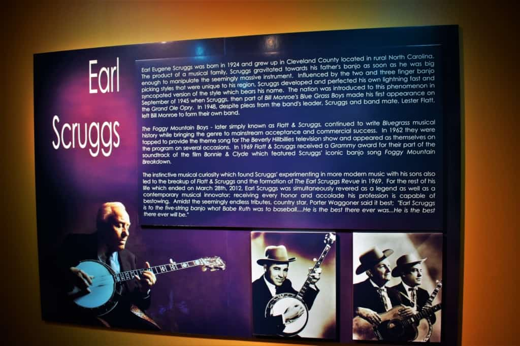 Earl Scruggs is one of the most recognizable banjo players who took picking and grinning to a new level.