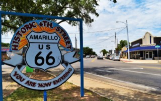 Travelers along Route 66 will find themselves playing in the Panhandle when they explore Amarillo, Texas.