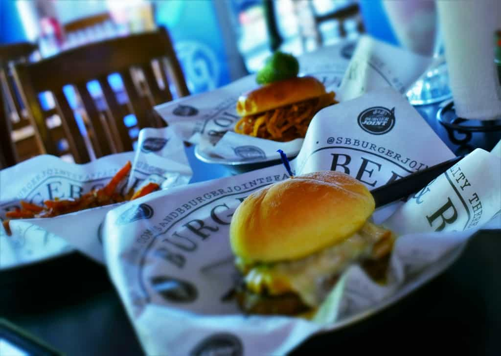 Unique burger choices means that S&B is rocking the classics daily.