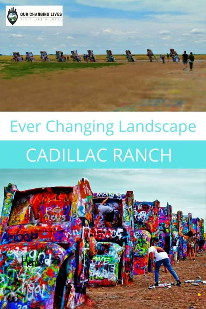 Ever Changing Landscape-Cadillac Ranch-Amarillo, Texas-Route 66-art installation-tourist attraction
