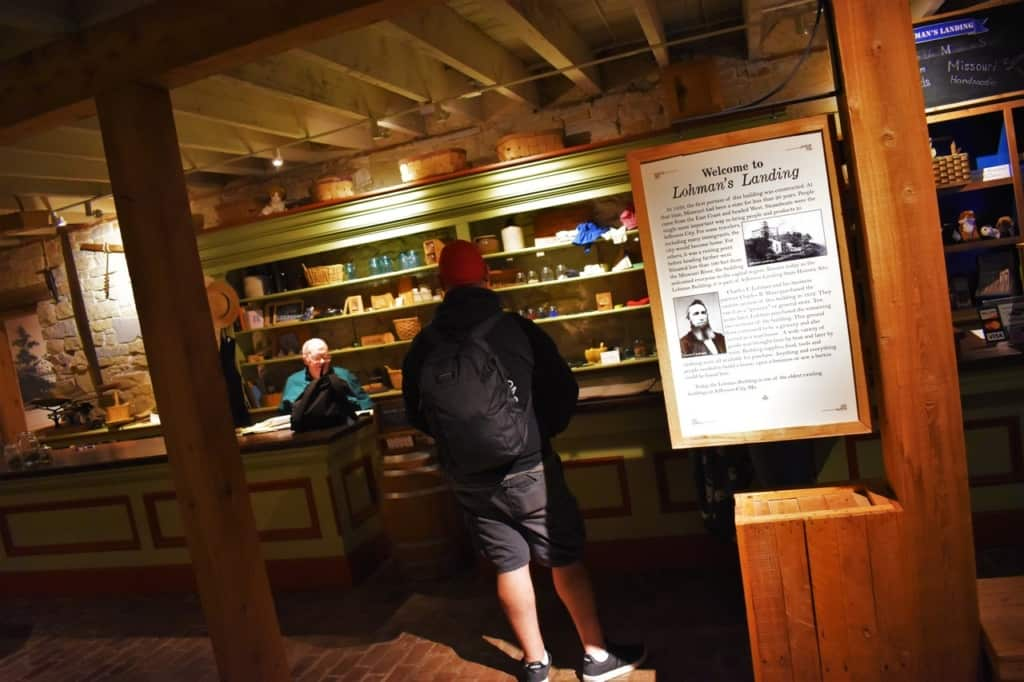 Places like Lohman's Landing help visitors gain an understanding of early life in a city like Jefferson city.