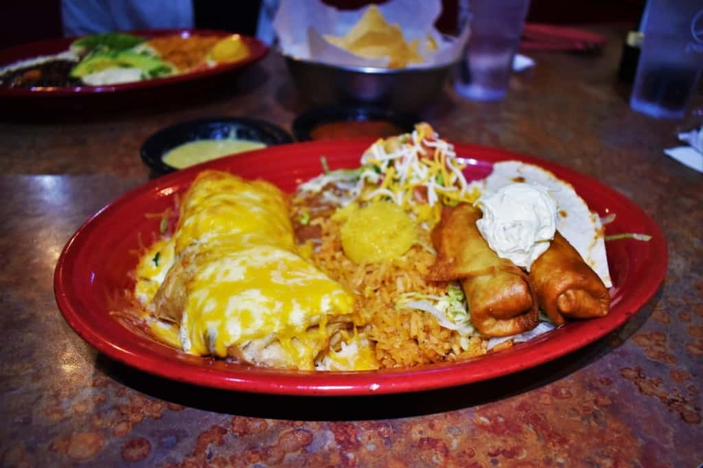 The Mi Ranchito Sampler platter is filled with flavors brought from the hacienda to the heartland.
