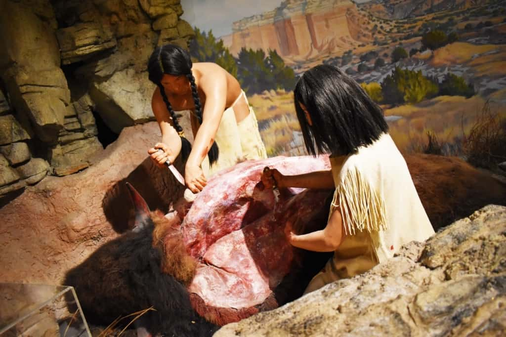 Life in the Staked Plains was a struggle for the native tribes, but the use of Alibates flint helped them craft tools.