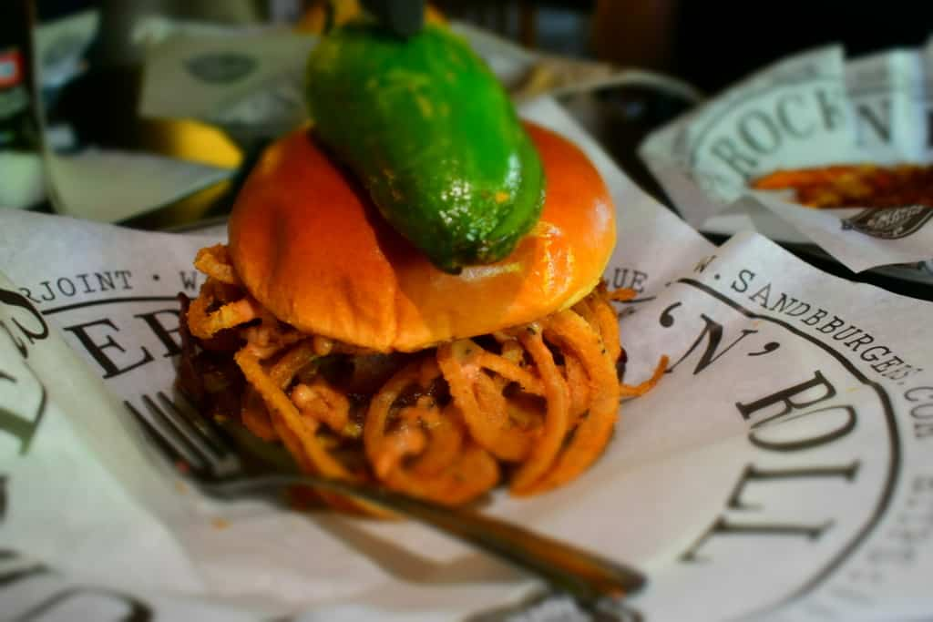 The Old Town Burger is an example of how S&B's is rocking the classics.
