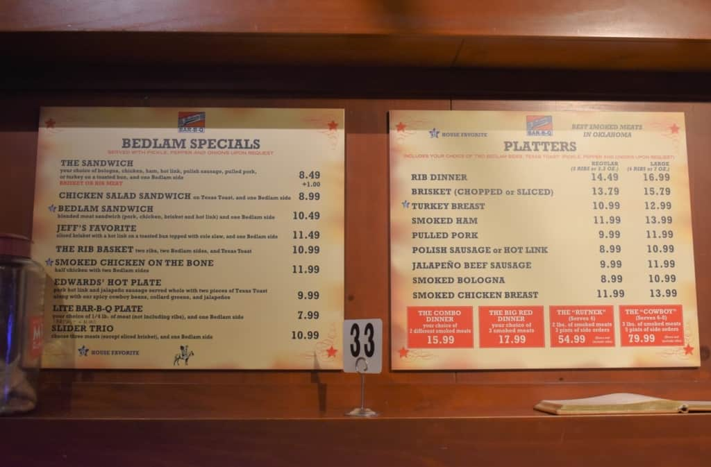 The menu is fairly simple, but filled with amazing tastes.