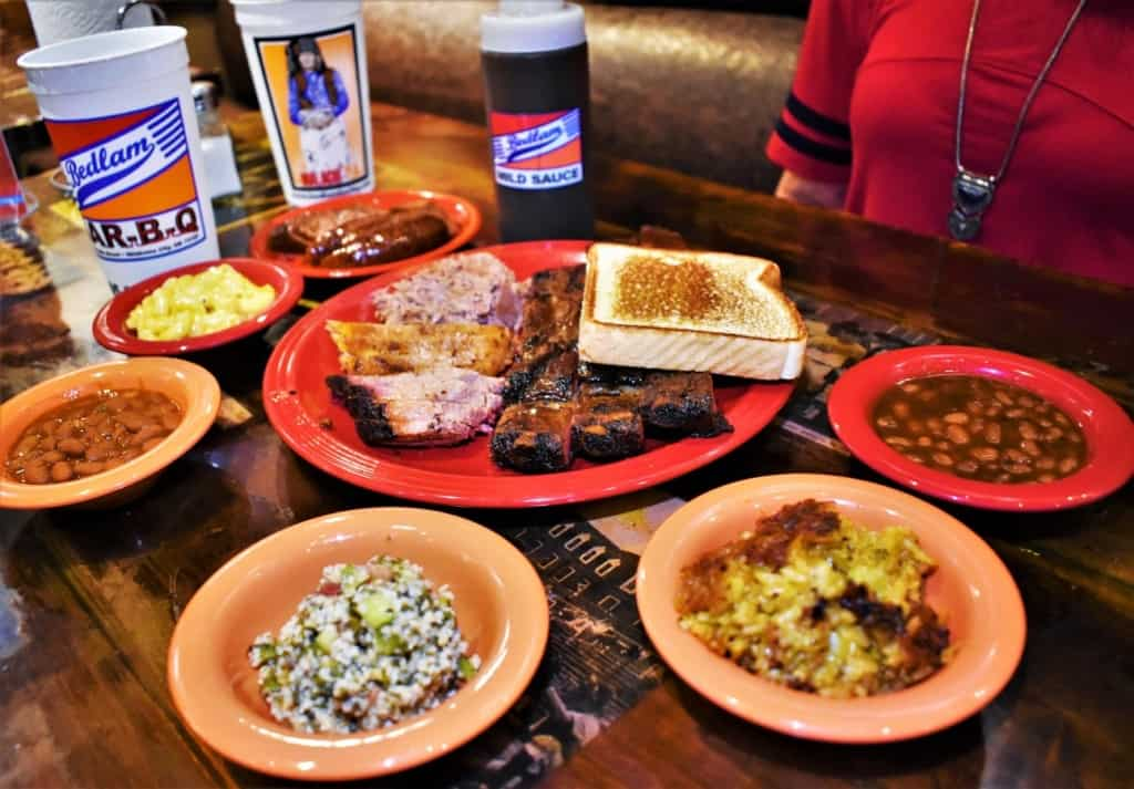With a plethora of side dishes and smoky meats, we knew that we would be full during our journey back to Kansas City.